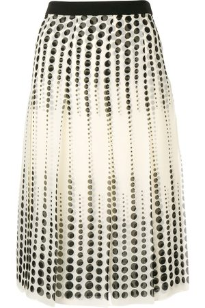 Giambattista Valli Pleated midi skirt
