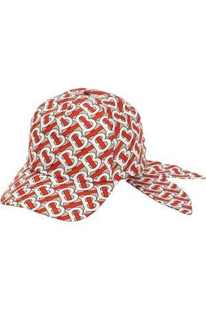 Burberry Women Hats - Tb Monogram Print Baseball Hat