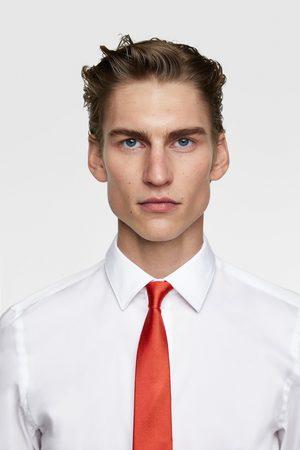 Zara Men Neckties - Wide textured weave tie