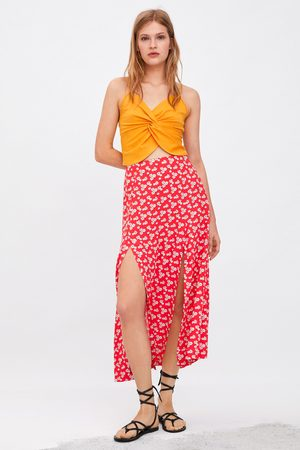 Zara Knotted strappy top