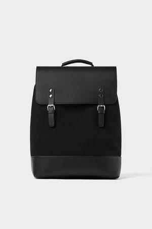 Zara Contrasting backpack