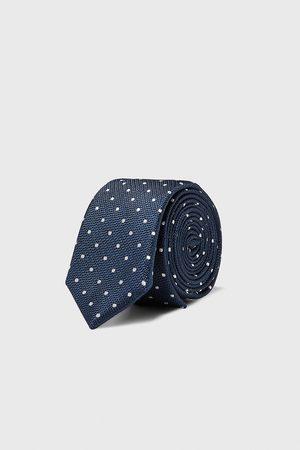 Zara Polka dot skinny tie
