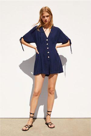 7d19e571910 Zara Women Jumpsuits - Rustic jumpsuit