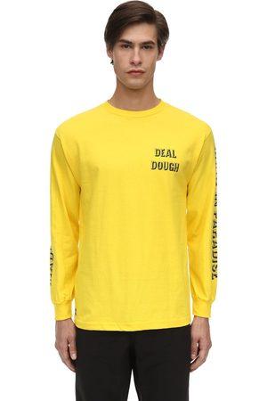 1800-PARADISE Men Long Sleeve - Deal Dough Long Sleeve Cotton T-shirt