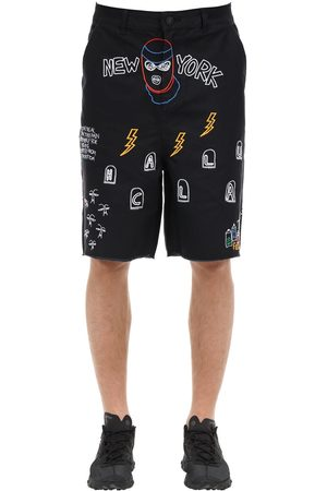 HACULLA Nocturnal Woven Cotton Shorts