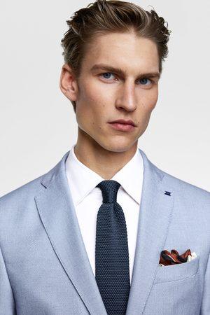 Zara Men Blazers - Bird's-eye suit blazer