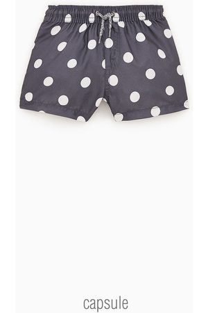 Zara Baby Swim Shorts - Polka dot swim bermuda shorts