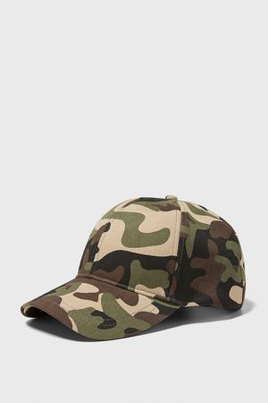 Zara Men Caps - Camouflage print cap