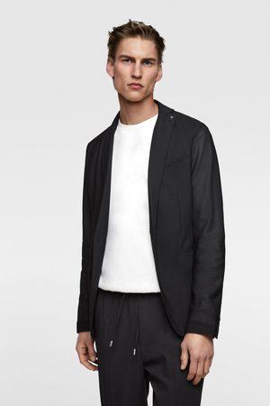 Zara Men Blazers - Mesh textured blazer