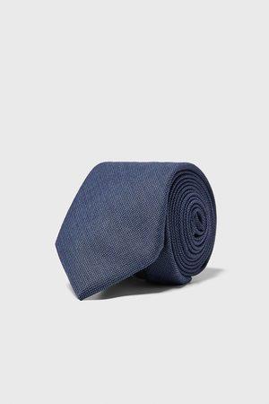 Zara Men Neckties - Polka dot wide tie