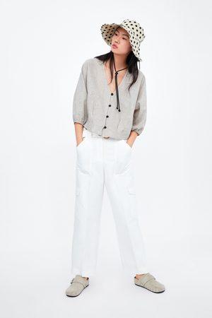 Zara Women Shirts - Rustic button-up shirt