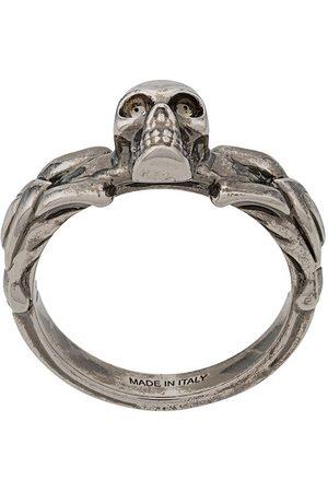 Alexander McQueen Skull detail ring