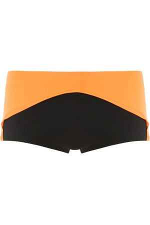 AMIR SLAMA Color block trunks