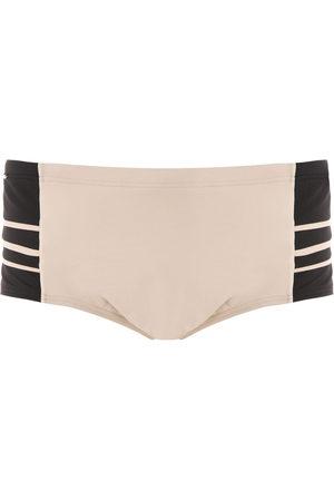 AMIR SLAMA Men Swimming Trunks - Panelled swim trunks
