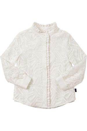 Chloé Cotton Blend Lace Shirt