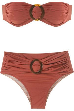 Brigitte Bikini set with buckle details