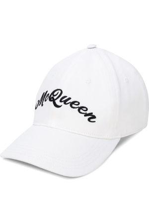 Alexander McQueen Logo embroidered baseball hat