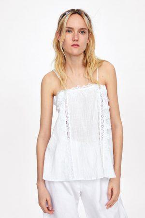 Zara Rustic lace top