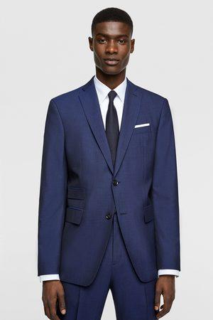 Zara Men Blazers - Herringbone texture suit blazer