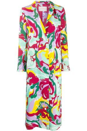 La DoubleJ Women Blazers - Printed duster coat