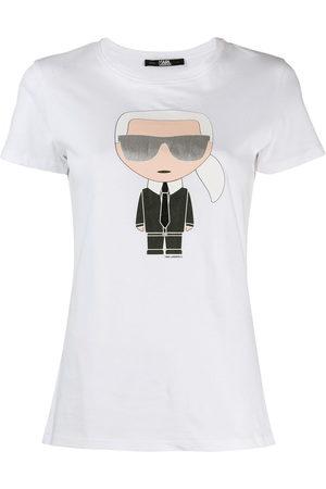 Karl Lagerfeld Women Short Sleeve - Ikonik Karl T-shirt