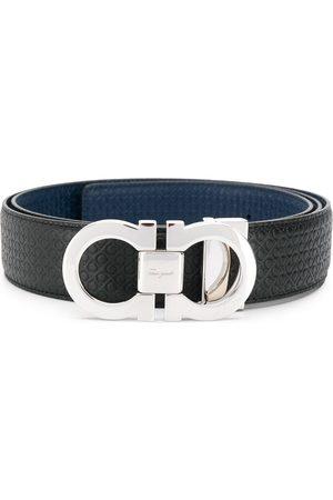 Salvatore Ferragamo Men Belts - Reversible Gancini-buckle belt