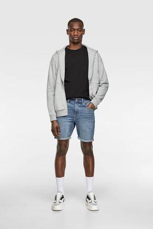 Zara Basic denim bermuda shorts