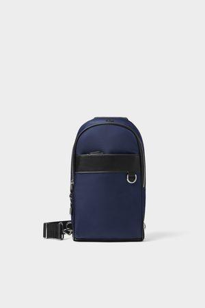 Zara Men Rucksacks - One-shoulder sports backpack