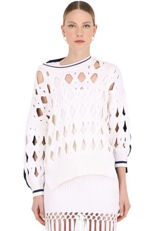 Sonia by Sonia Rykiel Oversize Wool Blend Knit Sweater