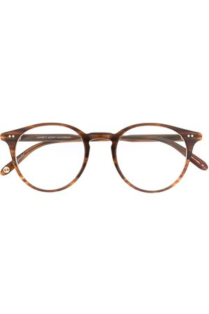 GARRETT LEIGHT Round shape glasses