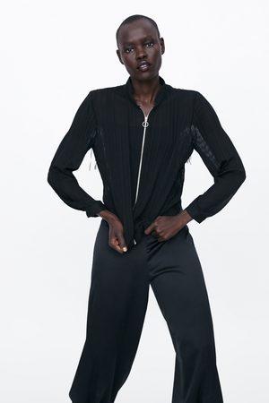f04ee55c Buy Zara Bomber Jackets for Women Online | FASHIOLA.in | Compare & buy