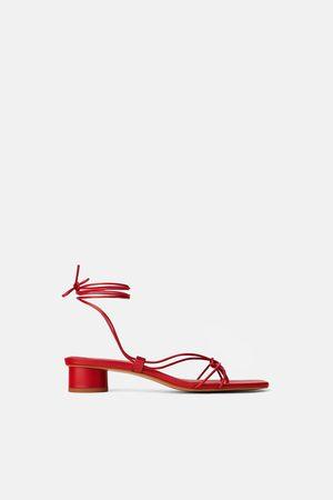 c9384b03ea5e2 Buy Zara Heeled Sandals for Women Online | FASHIOLA.in | Compare & buy