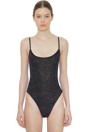 FAITH CONNEXION Women Bodysuits - Stretch Lamé Bodysuit
