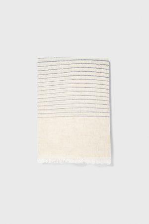 Zara Striped scarf