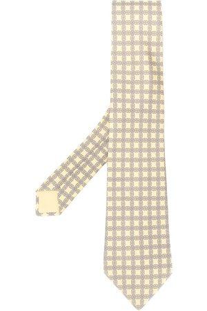 Hermès 2000's pre-owned patterned tie