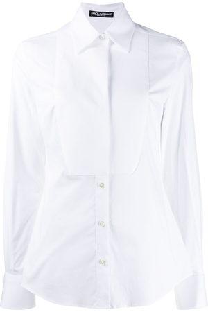 Dolce & Gabbana Stretch poplin tuxedo shirt
