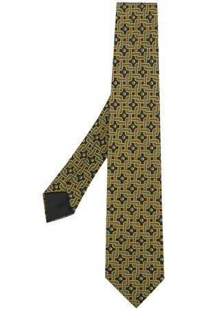 Hermès Patterned tie