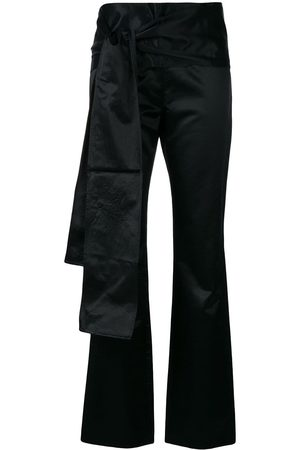 ROMEO GIGLI Bow detail slim trousers