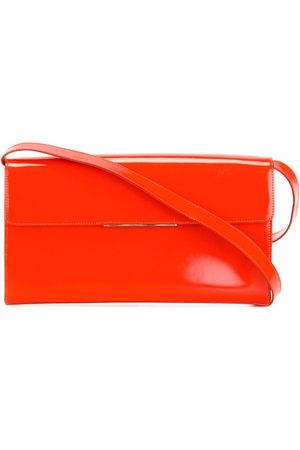 Yves Saint Laurent Varnished shoulder bag