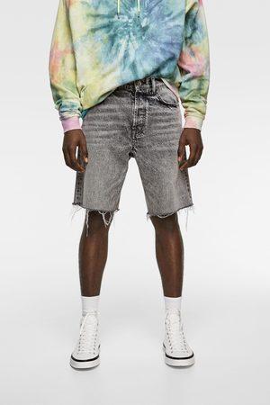 Zara Denim bermuda shorts