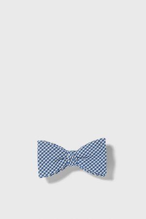 Zara Men Bow Ties - Gingham bow tie