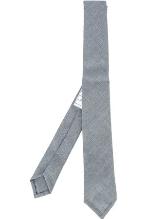 Thom Browne Men Bow Ties - Classic Necktie In School Uniform Plain Weave