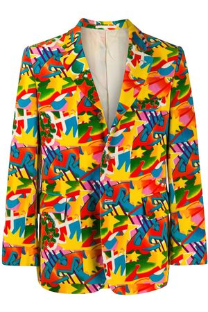 Comme des Garçons Abstract printed jacket
