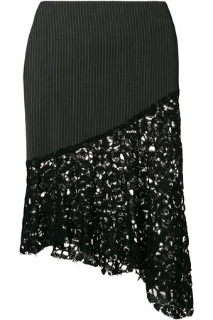 ROMEO GIGLI Asymmetric fitted skirt