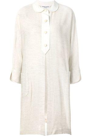 Pierre Cardin Front slit midi shirt