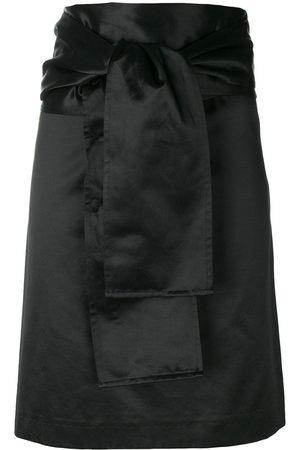 ROMEO GIGLI Belted straight skirt