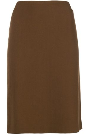ROMEO GIGLI Fitted midi skirt