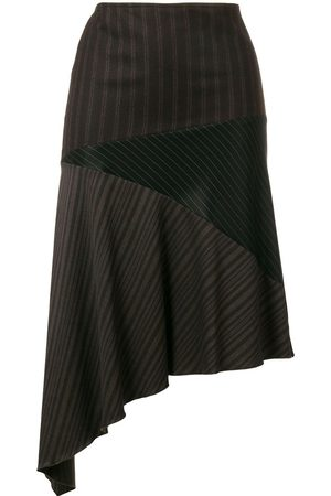 ROMEO GIGLI Asymmetric draped skirt