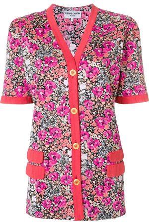 Pierre Cardin Floral buttoned blouse