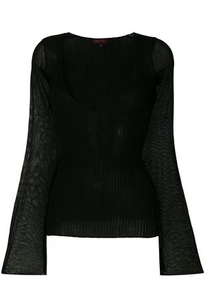 ROMEO GIGLI Deep V-neck top